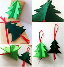 2015 New year Felt Christmas Ornament/christmas decoration