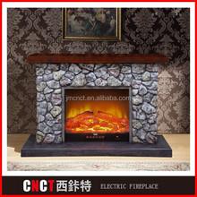 cheap decorate insert logs and smoke electric fireplace 1500W