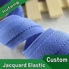 "custom jacquard elastic tape 1"" nylon webbing design of band for men's underwear"