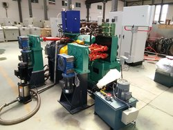steel bar peeling lathe machine with air/oil lubrication system