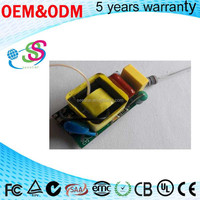 Triac dimmable Internal 3-5w 250mA led driver constant current pass CE SAA for LED Bulb light Spot light