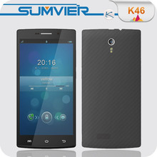5.5 inch 720*1280p MTK6582+6290 1GB+8GB Android your own brand phone