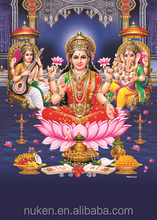 Custom printing cheaper price 3d indian god picture