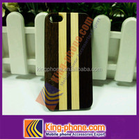 Chicken Wing wood Spell Maple Wooden PC Case for iphone5