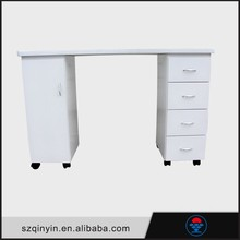 Hot sale easy to clean nail technicians salon manicure table