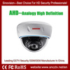 plastic dome camera 960p resolution 3.6mm/4mm fixed lens optional