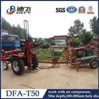 hydraulic air track drill DFA-T50 for sale