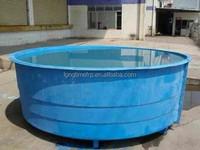 Fish farming tank used fish farm equipment for sale , Commercial fish farming tank