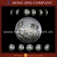 LED Wall Night Moon Light, Healing Light Lamp with Remote Control