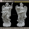 Marble Statues Peaceful Angel Sculpture Garden Statue Large