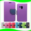 Mobile phone accessories phone case PU wallet leather case for samsung galaxy s3 mini , for samsung galaxy s3 cases