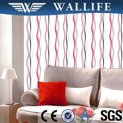 DF10204 economic PVC embossed wallpaper home decoration items