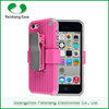 wholesale smartphone case 8 colors TPU+PC waterproof universal back case cover for iphone 6 5 4 with Support clip