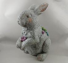Chubby Bunny Garden Statue, Animal Garden Ornaments