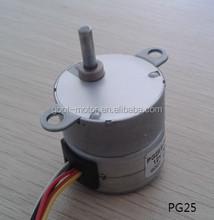 25mm permanent magnet stepper gear motor