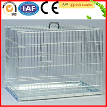 China Wholesale Welded Wire Strong Stainless Steel Dog Cages For Sale