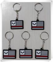 Hand made promotional pvc rubber keychain, custom plastic keychains, cheap keychain keyring