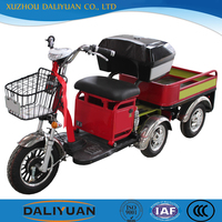 electric passenger tricycle three wheel cargo motorcycles scooter for cargo