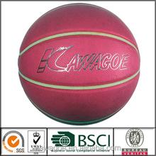 Standard size shiny basketball