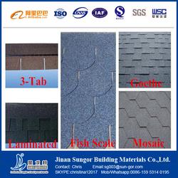 Low Price Hot Sale Heat Insulation Asphalt Shingle Roofing Shingle