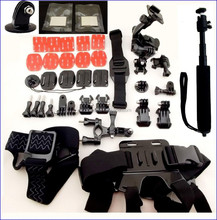 Sports Action Camera Accessories Sets/Kits for GoPro 1 2 3/3+ 4 sj4000 xiaomi Camera