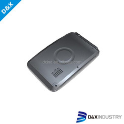 Wireless 5inch gps tracker car navigation cover mould making