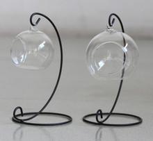 Wholesale Art glass vases green environmental protection Plant breeding