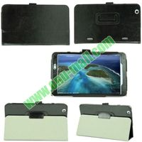 Crazy Horse Texture Flip Stand Leather Case for LG G Pad 8.3 with Pen Holder