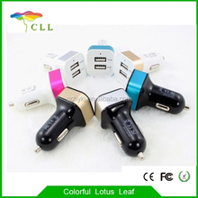 Dual USB 2 Port DC Car Charger 2.1A Adapter for Samsung Galaxy S5 Note 4 3