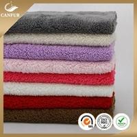 Luxury life comfort micro sherpa fleece fabric
