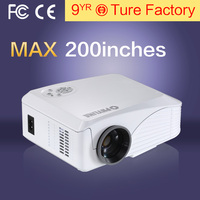 Cheap Mini Projector Home Theater 1080P 800*480Pixels LED Portable Projector High Definition