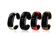 (sl)OLED Bluetooth Watch and Sport Pedometer Bluetooth Bracelet with Call ID Display/ Dial/ SMS Sync//Anti-lost for Samsung