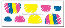 Beeann new design environmental pet dedicated nail stickers