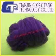 Purple Dyed bamboo fiber top