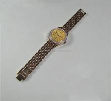 Cheap metal material mens alloy steel watch