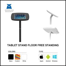 Tablet display floor stand,display tablet pc kiosk stand