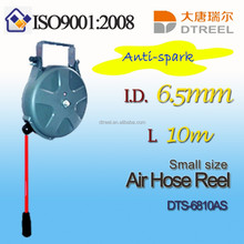 6.5mm 10m small size anti spark air hose reel