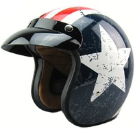 vintage open face helmet with DOT, CE approved, ABS, new design, wholesale, german style,