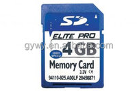 4GB SD card Digital camera memory card