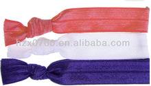 elastic ribbon for hair ties/Fold over Elastic Headband infant hairbands