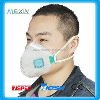 White Double layer Mouth muffle Ear Hoop Half Face Mask Anti-dust