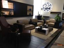 Nicoletti Italian Furniture Corner Leather Sofa