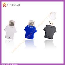 t-shirt shape plastic usb pen drives 32gb coat mini usb key