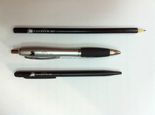 Black Customized Metal Pen For Hotels