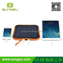 Portable usb solar travel charger for samsung mobile phone for your vietnam air travel new invented products in UK 2015