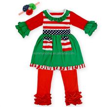 Wholesale boutique organic cotton newborn baby toddler clothing M5040311