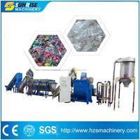 plastic recycling machines pp pe film washing line