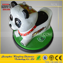 panda mini animal car amusement park equipment indoor bumper car/battery powered kids bumper car