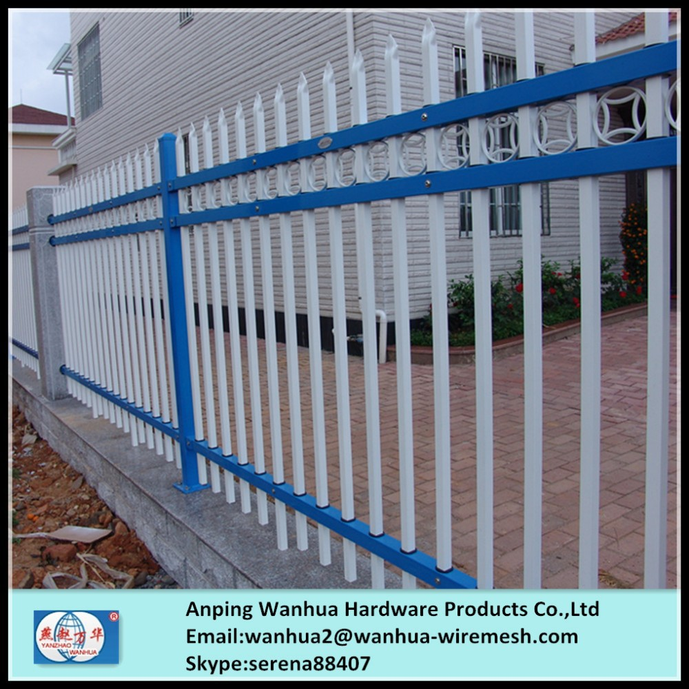 Factory Sale Decorative Ornamental Steel Fence Parts With ...