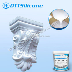 plaster/GRC/gypsum casting rtv silicone rubber liquid silicone rubber for mould making